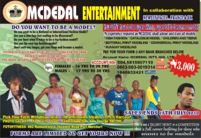 Job Vacancies For Models In Nigeria - Male And Female Models