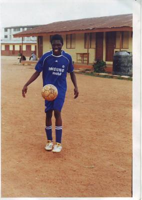 Resume For Dare Lawal - A footballer Lagos Nigeria